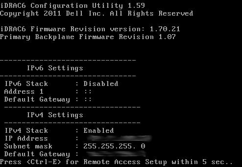 Dell iDRAC Network Configuration with Linux | xorl %eax, %eax