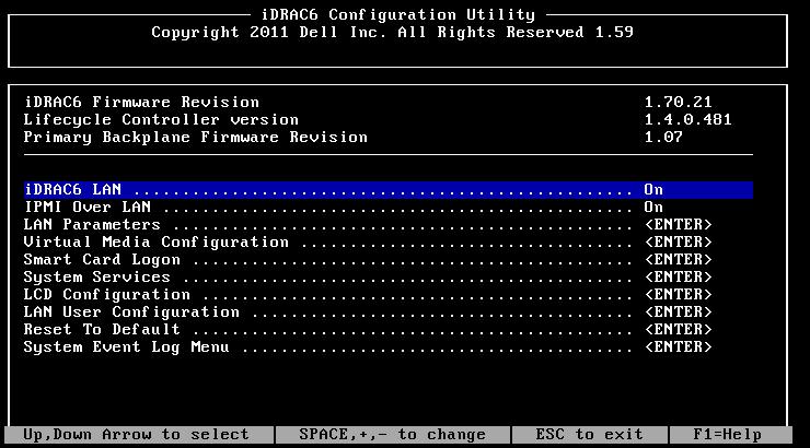 Dell iDRAC Network Configuration with Linux   xorl %eax, %eax