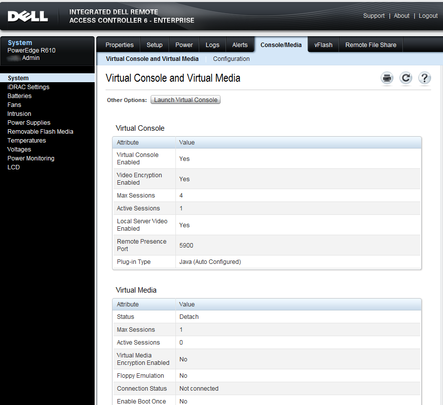 How to use DELL iDRAC Virtual Media | xorl %eax, %eax