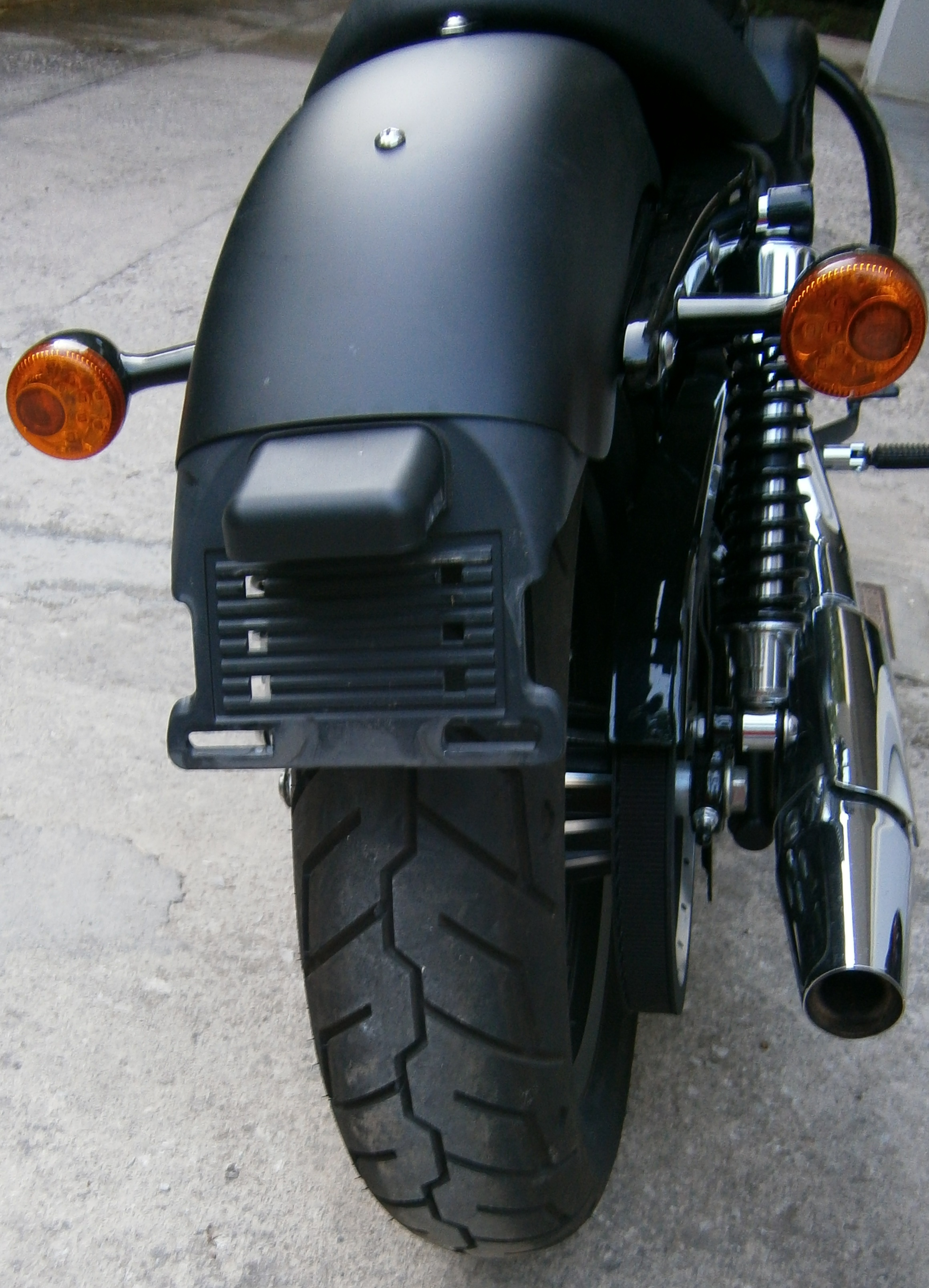 How To Install Side Mount License Plate On A Harley
