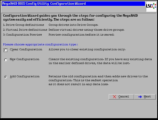 Ibm Megaraid Bios Config Utility Raid 10 Configuration